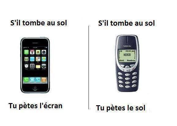 iPhone vs Nokia