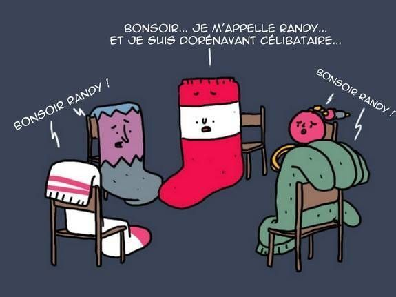 Les chaussettes anonymes...