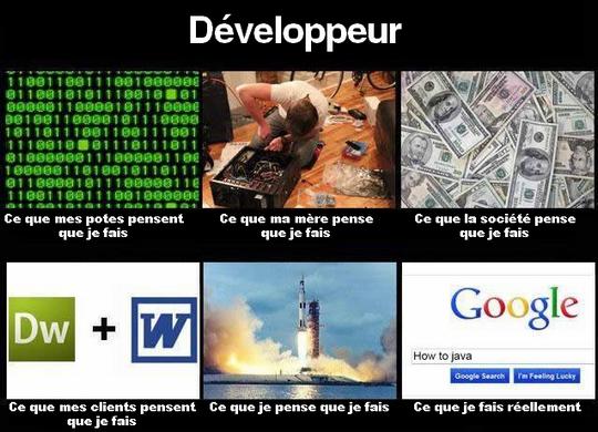 Qu'est ce qu'un développeur ???