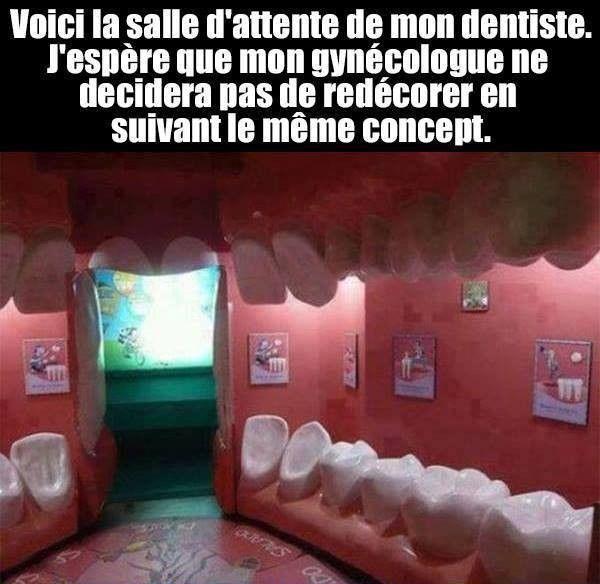 Salle d'attente de mon dentiste
