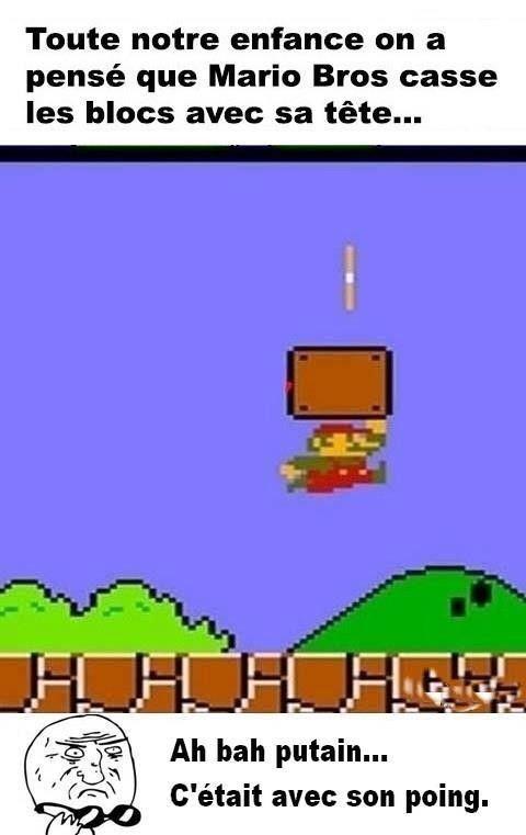 Le Saviez Vous ? / Comment Mario casse ses briques ? / N°27 dans Le Saviez Vous ? cd0d5d1e