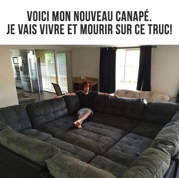 Vivre et mourir dans mon canapé