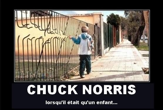 photo de chuck norris enfant. Black Bedroom Furniture Sets. Home Design Ideas